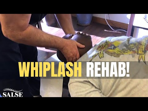 RELIEF for Whiplash Injury Patient Using NATURAL Chiropractic Care | Salse Chiropractic