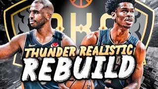 OKLAHOMA CITY THUNDER REALISTIC REBUILD! (NBA 2K20)