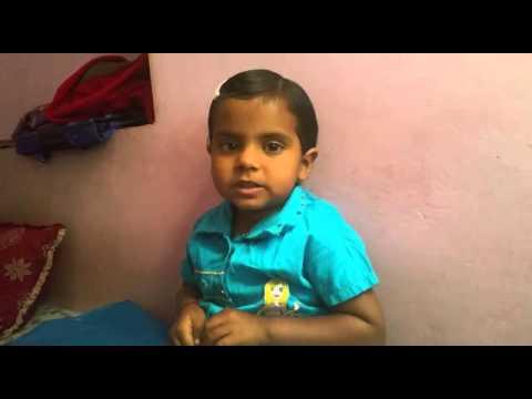 Gayatri mantra - by cute baby.. (comedy) - YouTube