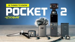 DJI Pocket 2 - 18 Things to Know + Giveaway
