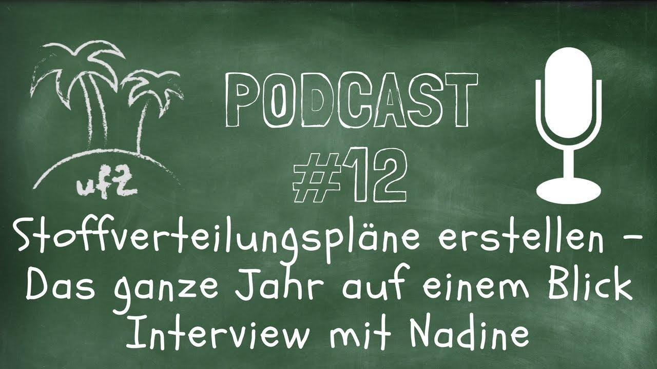 Interview: Stoffverteilungspläne erstellen - Das ganze Jahr