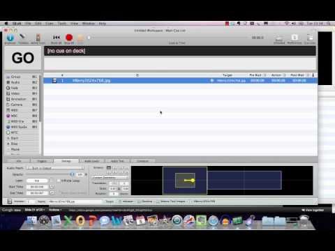 Qlab Training Tutorial - Guide To Audio Cues, Fade Cues