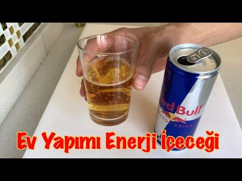 EVDE REDBULL ENERJİ İÇECEĞİ TARİFİ!!!