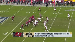 Which Offense Are You More Confident In? GMFB Debates Bucs or Saints