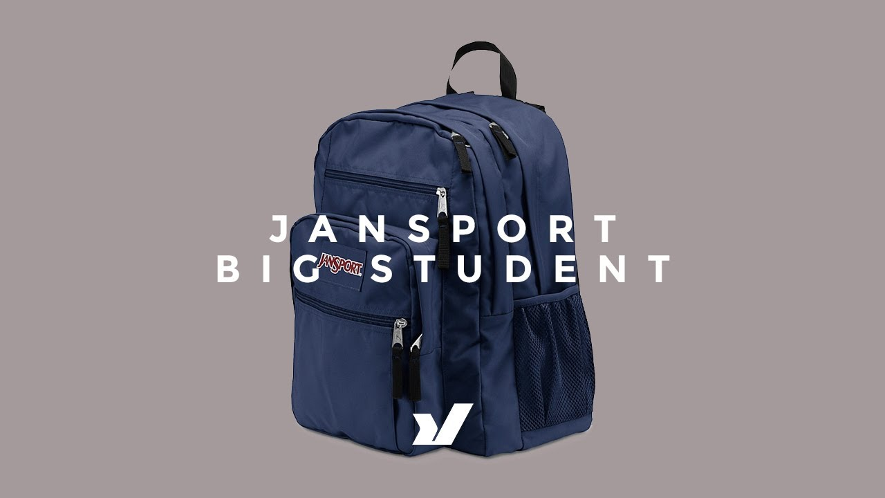 f307dd073564 Jansport Big Student Backpack - YouTube