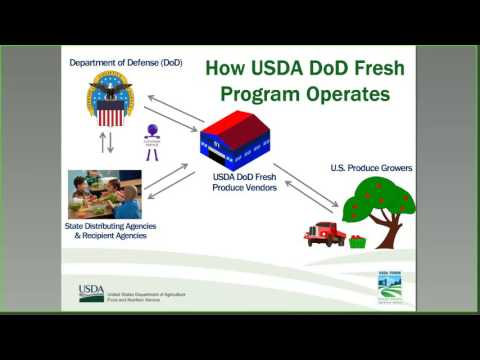 Best Practices for the Use of the USDA DoD Fresh Program in the Summer Food Service Program