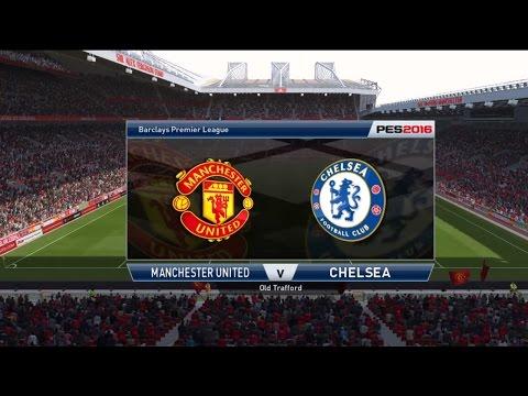 PES 2016 Manchester United Vs Chelsea PS4 Full Game