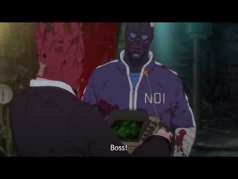 Noi turns in lizard-like form | Ebisu's magic on Noi | Dorohedoro Episode 7 Engslish Sub