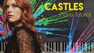 Freya Ridings - Castles | Piano Tutorial Video