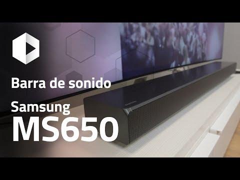 Review barra de sonido Samsung Sound+ MS650. Análisis en español