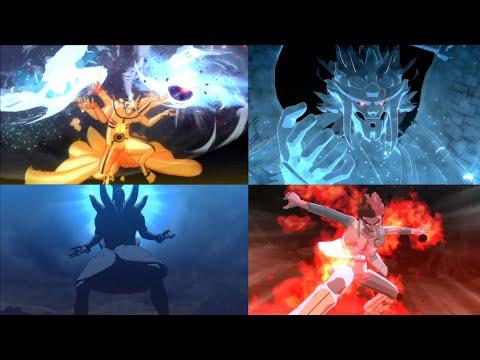 Semua Ulti Karakter Di Game Naruto Storm 4