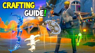Fortnite Season 6 CRAFTING EXPLAINED GUIDE! (How To Craft Every Item)
