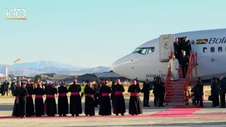 Le pape est arrivé en Bolivie