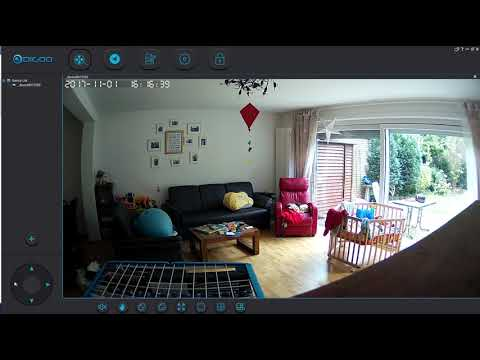 Digoo Windows-App -with Download-Link- sample-footage - with Digoo DG-M1Z