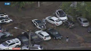 Обложка Forte Chuva Deixa Mortos No Rio De Janeiro
