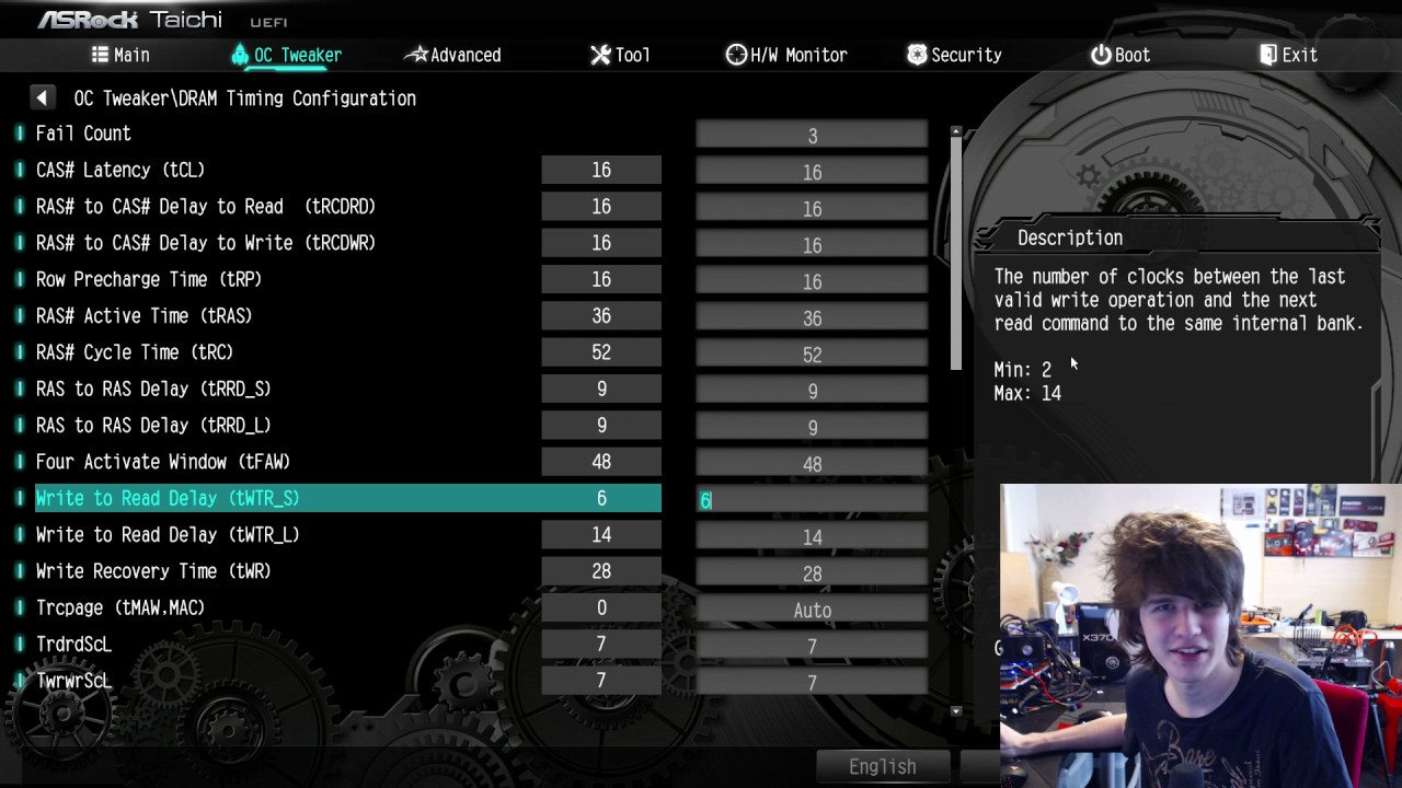 Asrock X370 Taichi: AGESA 1006 BIOS 2 40 RAM OC tips