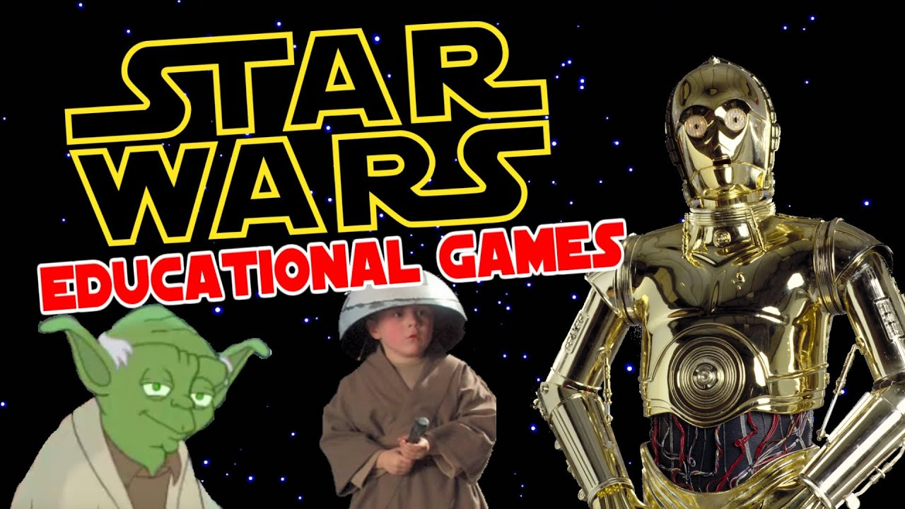 Uncategorized Star Wars Learning Games star wars educational games lesmocon youtube lesmocon