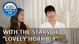"Interview with the stars of ""Lovely Horribly"" [Entertainment Weekly/2018.08.13]"