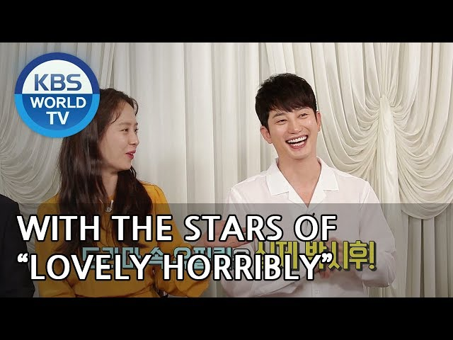 """Interview with the stars of """"Lovely Horribly"""" [Entertainment Weekly/2018.08.13]"""