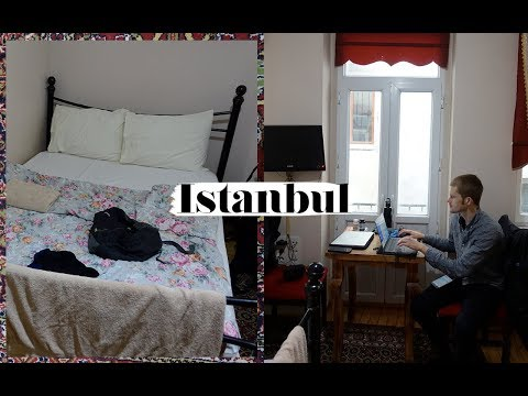 (SUPER TINY!) ISTANBUL AIRBNB APARTMENT TOUR