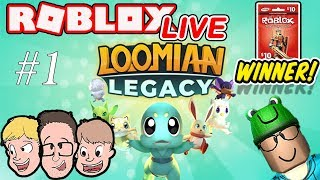 Roblox LIVE | Loomian Legacy Live Stream (#1) | Robux Giveaway Winner | Family Friendly | Schlamaddy