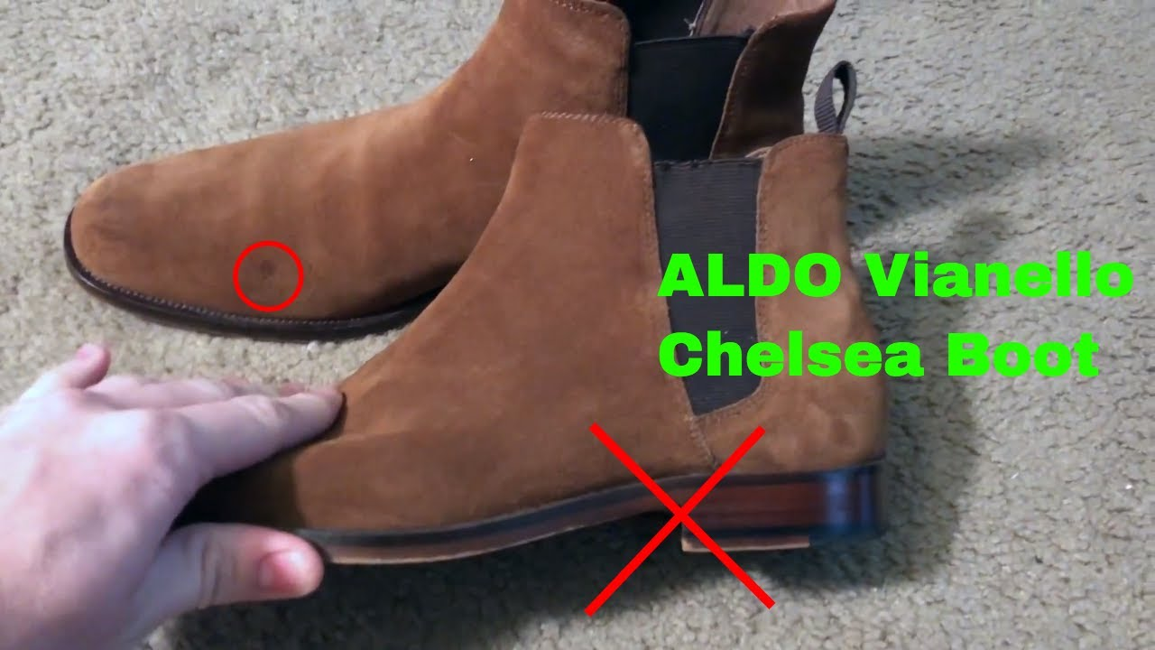 08fcb17c4c ✅ How To Use ALDO Vianello Chelsea Boot Review - YouTube