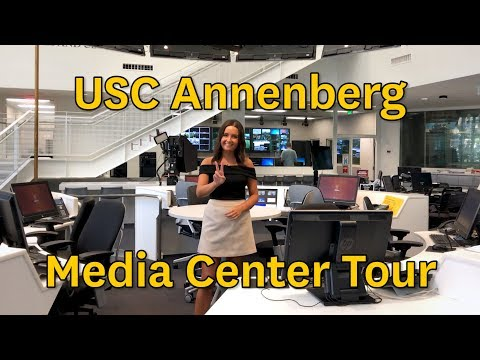 State-of-the-Art Media Center @ USC Annenberg