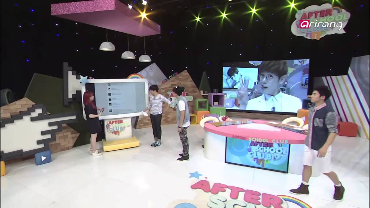 After School Club - Ep96C04 Which BTS member was sitting next to MC′s seat 방탄소년단 멤버중 누가