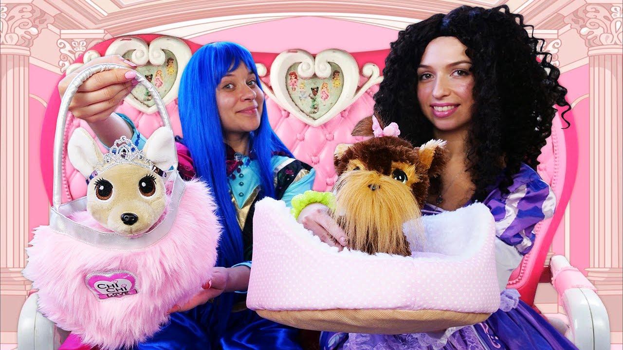 Los cachorros de las Princesas Caprichosas. Castillo mágico. Vídeos de princesas