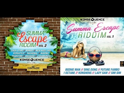 SUMMA ESCAPE RIDDIM MIX FT. LADY SAW, MAVADO, BEENIE MAN & MORE {DJ SUPARIFIC}