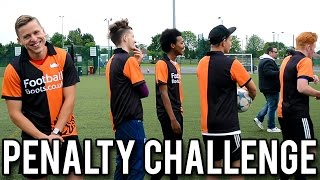 Penalty challenge featuring the lineup, shoot and thrill, ethan anders & plenty more!