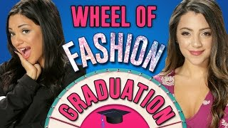 Niki And Gabi's Graduation Outfit Challenge! Wheel Of Fashion