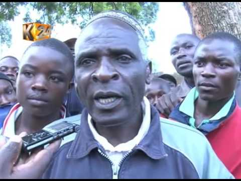80 year old  Bungoma tree 'refuses' to fall after being cut
