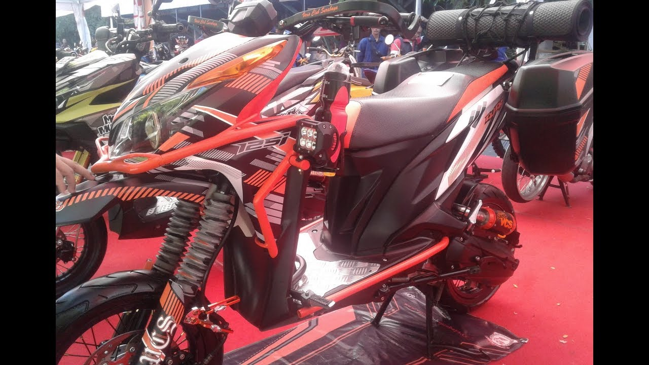 Kontes Honda Vario 125 Modifikasi Touring Style YouTube