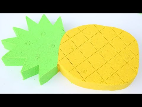 Thumbnail: DIY How To Make Colors Kinetic Sand Pineapple Kinetic Sand Compilation Mighty Toys