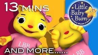 Peekaboo Song | And More Nursery Rhymes | Original Song by LittleBabyBum