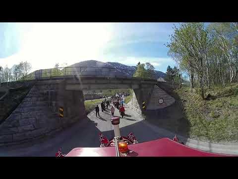 Bli med Mosjøen By Tog, når det kjører i Borgertoget på 17 Mai 2018