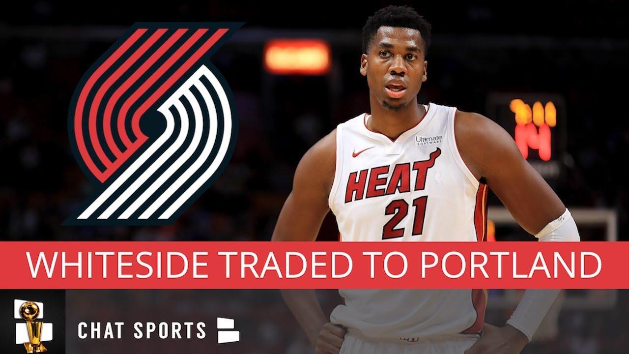 Heat trade Hassan Whiteside to Portland Trail Blazers