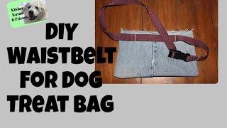 Diy Waist Belt For Dog Training Treat Bag