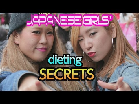 Ask Japanese GIRLS about their DIETING SECRETS
