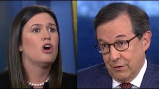 Fox News fact-checks Sarah Huckabee Sanders to her face