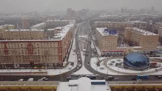 Светофор на выезде с ул. Алабяна на Ленинградский проспект