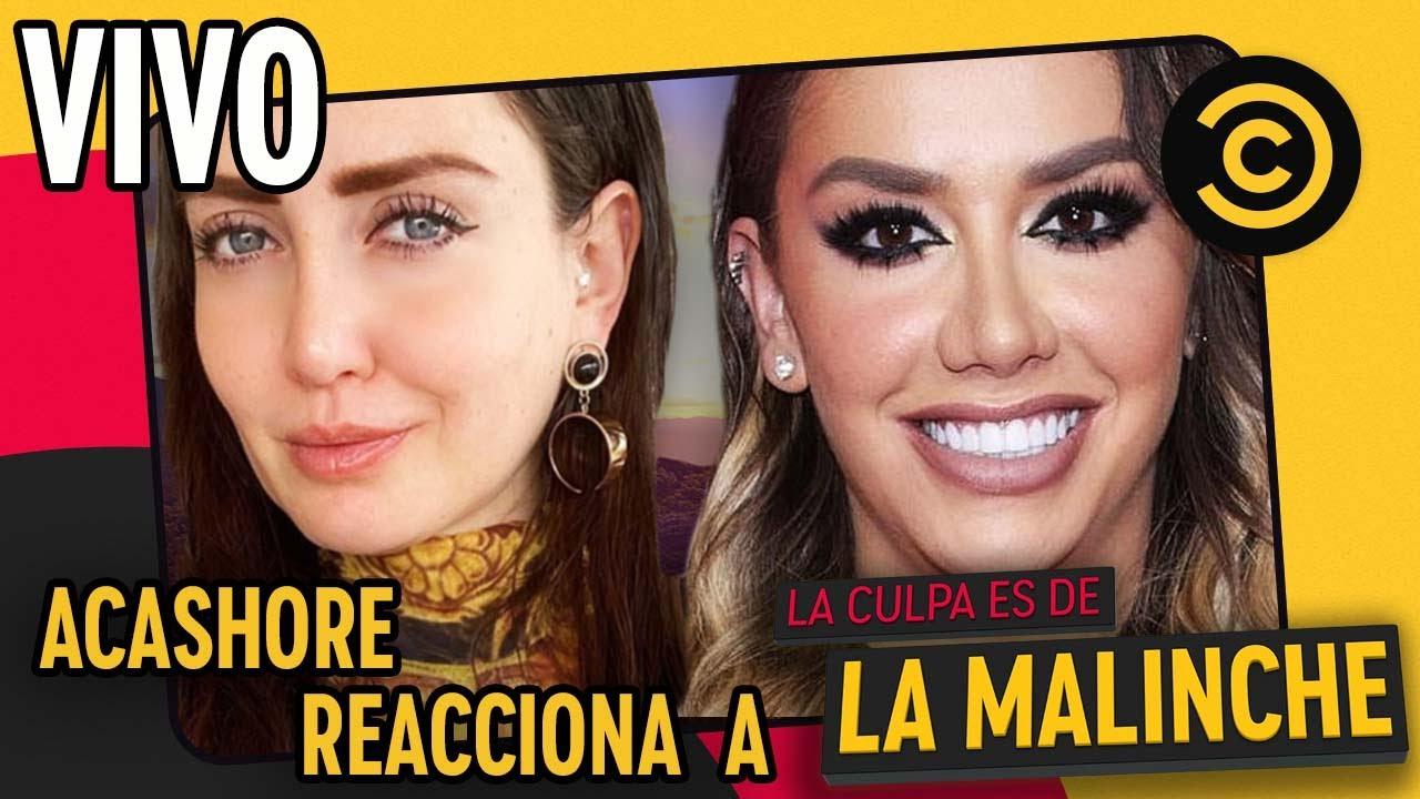 ¡Los AcaShore Reaccionan a La Culpa Es De La Malinche! | Comedy Central LA
