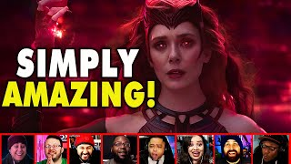 Reactors Reaction To Wanda Becoming THE SCARLET WITCH On Wandavision Episode 9 | Mixed Reactions