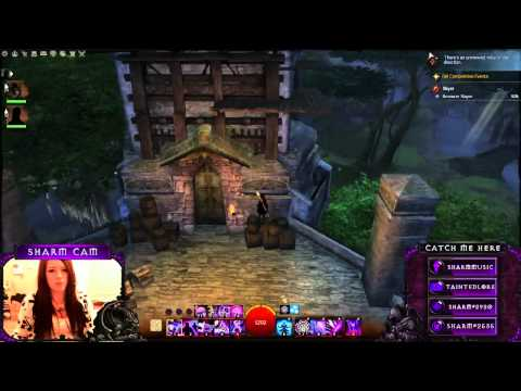 Thunderstorm during Stream :3 (Guild Wars 2) (Twitch Highlight)