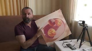 Уроки живописи маслом – Акриловая подготовка – Юрий Клапоух (2019)
