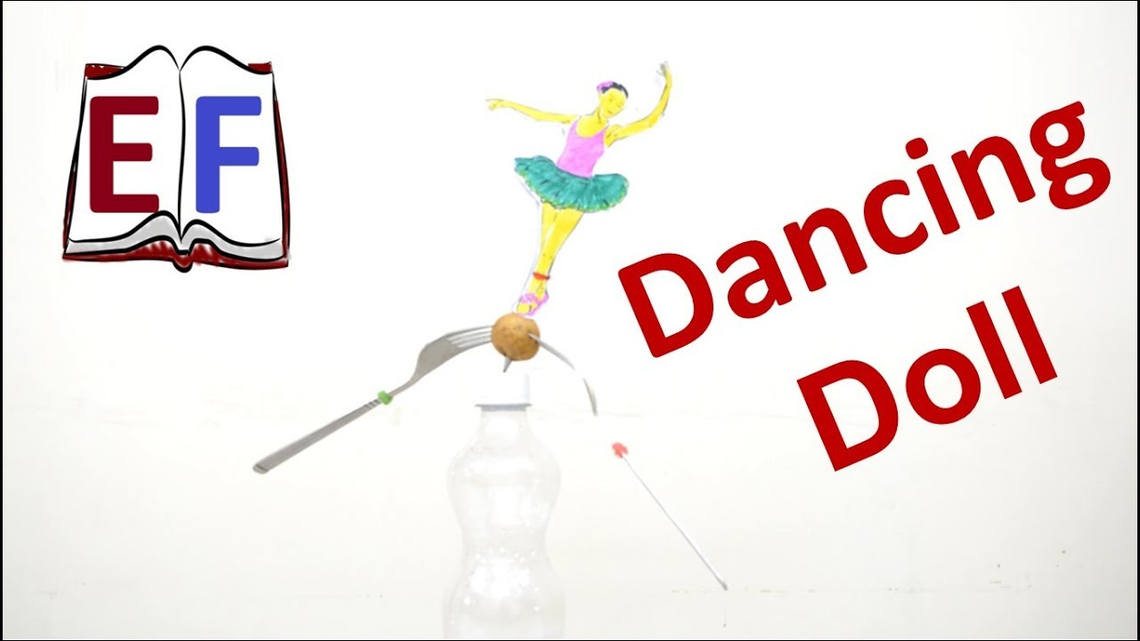 Making a dancing doll using center of mass diy school physics making a dancing doll using center of mass diy school physics project solutioingenieria Choice Image