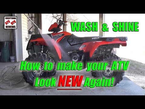 How to Wash Your ATV, Make it Look NEW Again!