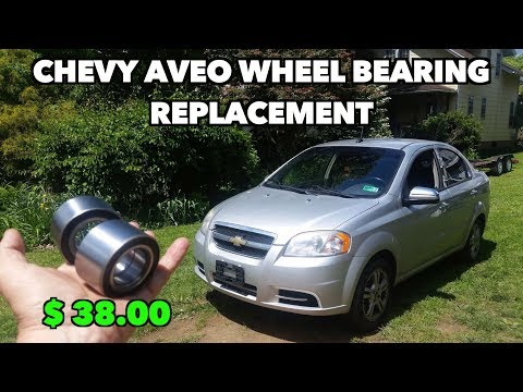 Chevy Aveo 2002 11 Both Front Wheel Bearing Replacement It Was