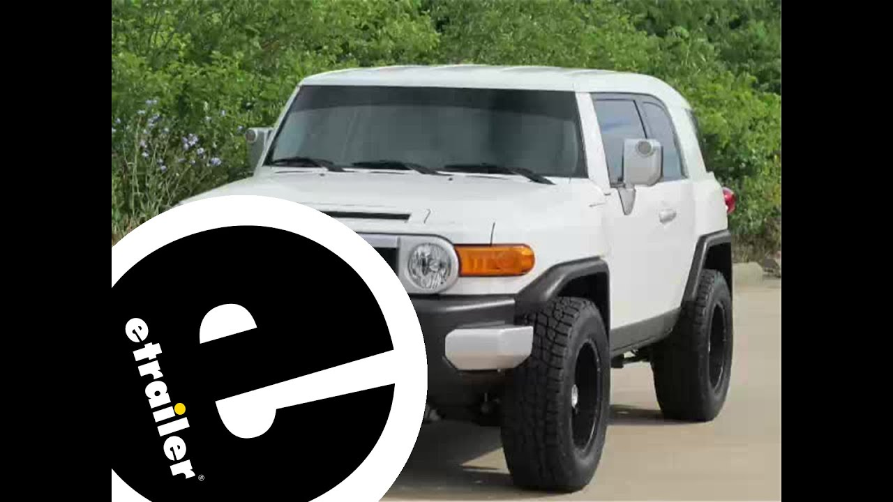 maxresdefault installation of a trailer hitch on a 2012 toyota fj cruiser fj cruiser oem hitch wiring harness at bakdesigns.co